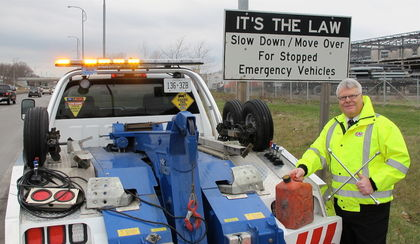 Tow Truck, Tow Truck Driver, Slow Down, Slow Down Move Over, Move Over