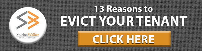 13 Reasons to Evict Your Tenant