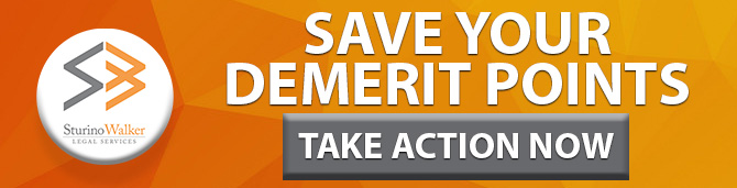 Save Your Demerit Points Take Action Now