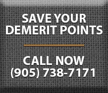 Save Your Demerit Points Button
