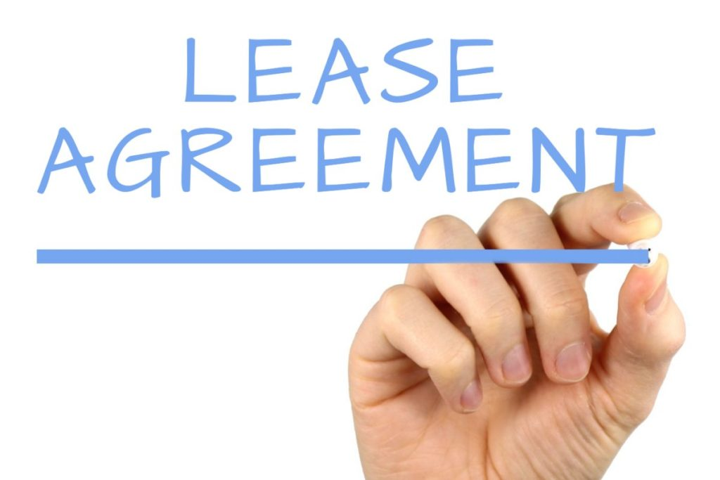 Lease Agreement - Landlords must use a standardized lease agreement.