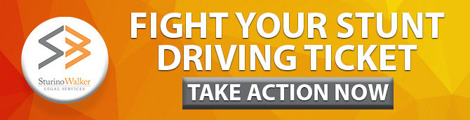 Fight Your Stunt Driving Ontario Ticket - Take Action Now
